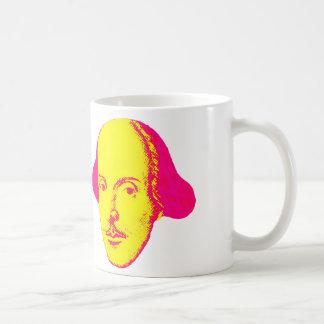 Mugg för William Shakespeare popkonst