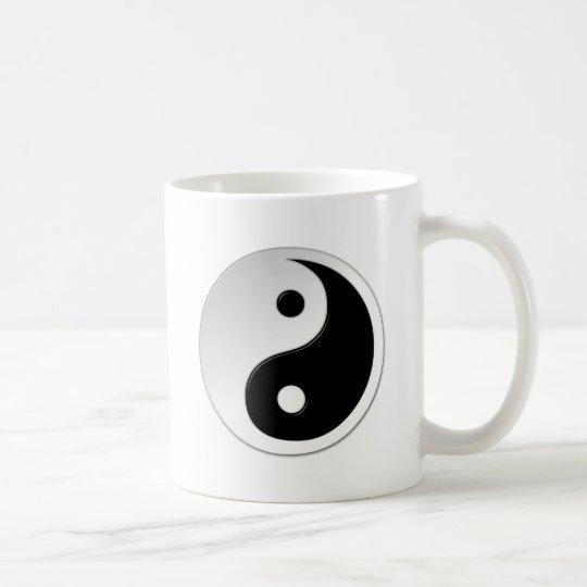 Mugg för Yin Yang symbolkaffe