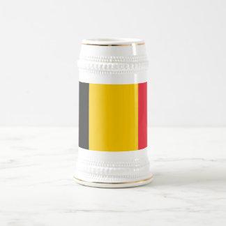 Mugg med flagga av Belgien