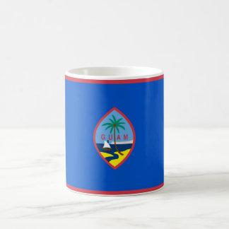 Mugg med flagga av Guam - USA