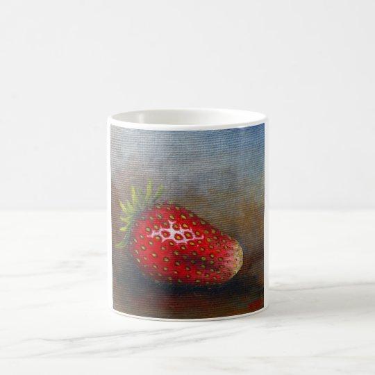 Mugg med jordgubbe