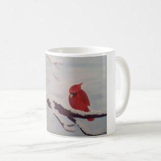 mugg med kardinalen