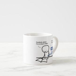 """Mugg """"mig förmiddag som är pröva till studien """", espressomugg"""