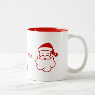 Mugg - Santa och järnek