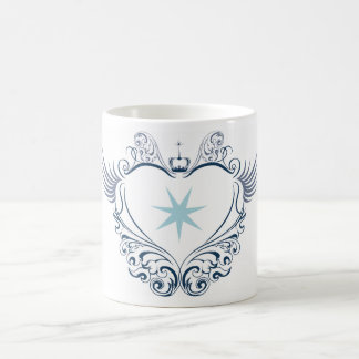 Mugg with blue Heart