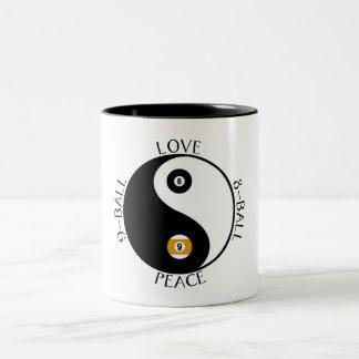 Muggar för kärlekfredbassäng