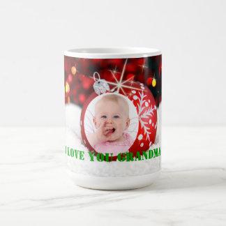 """Muggen för jul för den foto""""älskar jag dig kaffemugg"""
