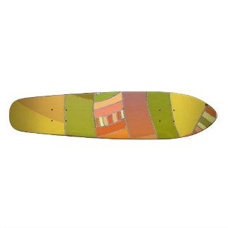Multicolour etnisk design 3 för Skateboard