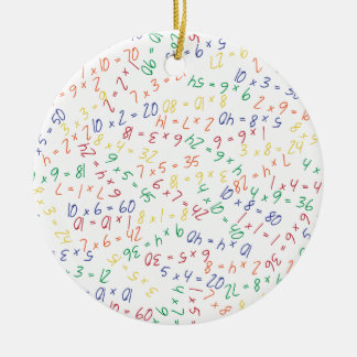Multiplikation av mångar julgransprydnad keramik