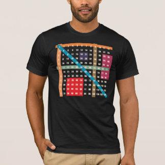 Multiplikation/tidbord T Shirt