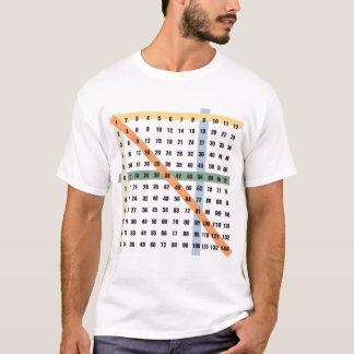 Multiplikation/tidbord Tee Shirts