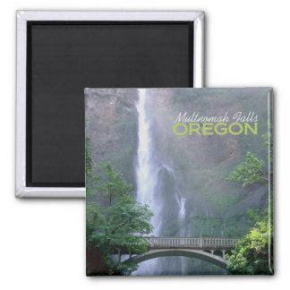 Multnomah nedgångar Oregon reser souvenirmagneten