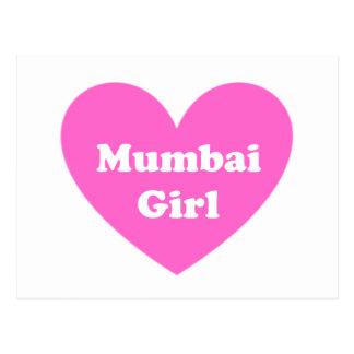 Mumbai flicka vykort
