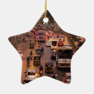 Mumbai gata julgransprydnad keramik