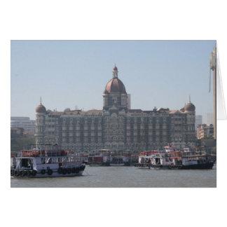 mumbai hotellhamn hälsningskort