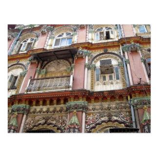 Mumbai Indien arkitektur Vykort