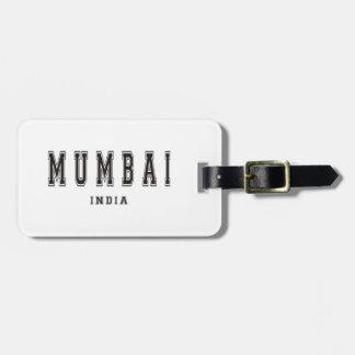 Mumbai Indien Bagagebricka