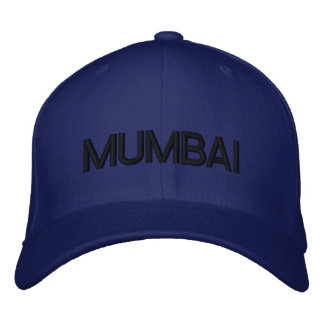 Mumbai lock broderad keps