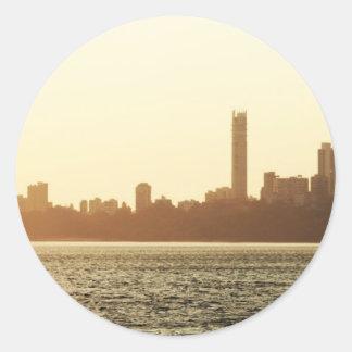 Mumbai Runt Klistermärke