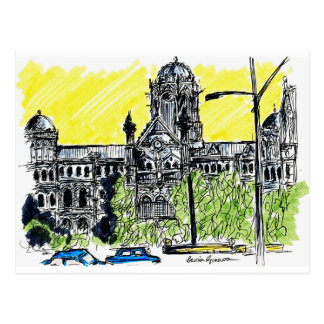 Mumbai rusar vykort