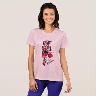 MUMODEkvinna kvinna för mästare Com för Sport-Tek T-shirts