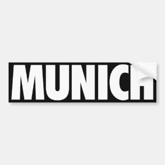 Munich Bildekal