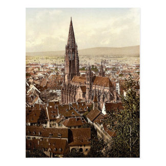 Munsteren, Freiburg, Baden, tysklant storartat Vykort
