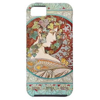 Murgröna - fodral för Alphonse Mucha iPhone 5 iPhone 5 Case-Mate Cases