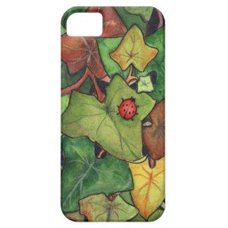 Murgröna & nyckelpiga iPhone 5 cases