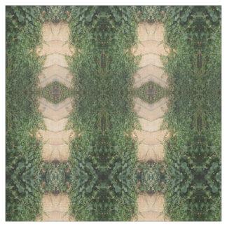 murgröna på staket, tyg för mönster för