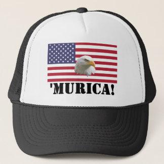 Murica örn truckerkeps