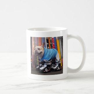 Murray Frenchien skidar in kängor Kaffemugg