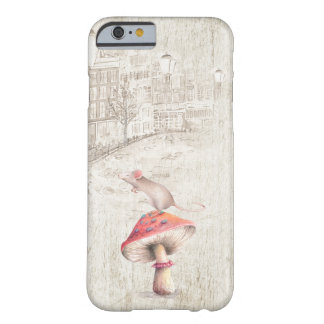Mus på champinjonfodral barely there iPhone 6 skal