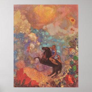 Musa på Pegasus Poster