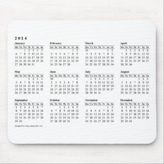 musen för 2014 kalender vadderar musmattor