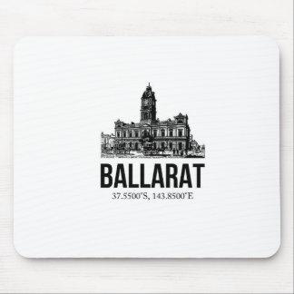 Musen för det Ballarat turismstadshuset vadderar Mus Mattor