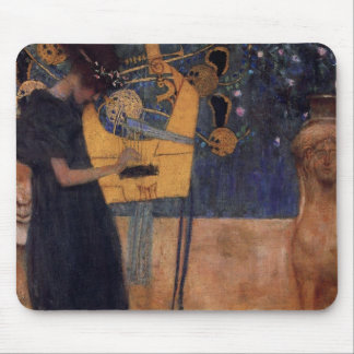 Musen för Gustav Kllimt harpamusik vadderar Musmatta