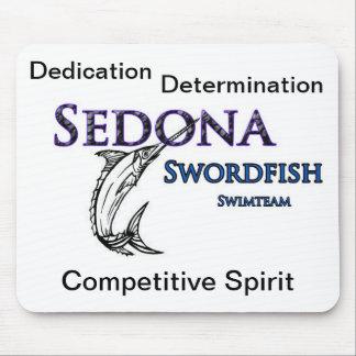 Musen för laget för den Sedona Swordfishsimman vad Musmatta