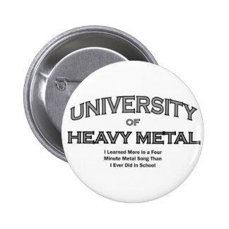 MUSIC--HEAVYMETALL STANDARD KNAPP RUND 5.7 CM