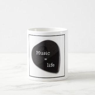 Music=Life mugg