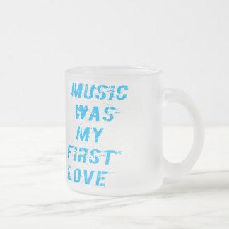 Music was my first love kaffeetassen