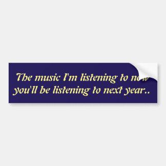 Musically avancerat bildekal