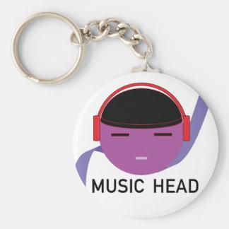MUSICHEAD.png Nyckel Ring