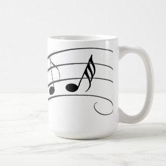 Musik är allt kaffemugg