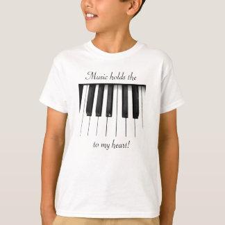 Musik är dem stämm till min hjärta tee