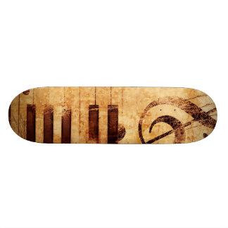 Musik är liv mini skateboard bräda 18,7 cm