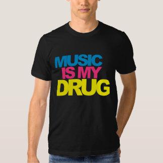 Musik är min drog tee shirt