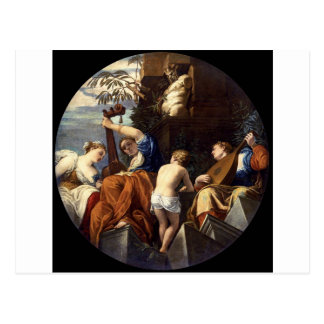 Musik av Paolo Veronese Vykort