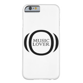 musik barely there iPhone 6 fodral