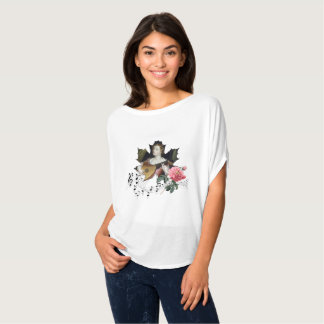 Musik Bella+Kanfas Flowy cirklar bästa T Shirt